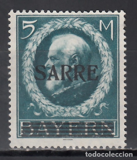 SARRE. 1920 YVERT Nº 30 /*/, (Sellos - Extranjero - Europa - Alemania)
