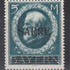 Sellos: SARRE. 1920 YVERT Nº 30 /*/, . Lote 177432699