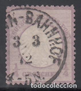 ALEMANIA IMPERIO, 1872 YVERT Nº 1 (Sellos - Extranjero - Europa - Alemania)