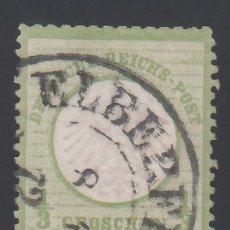 Sellos: ALEMANIA IMPERIO, 1872 YVERT Nº 2 . Lote 177528043