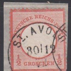 Sellos: ALEMANIA IMPERIO, 1872 YVERT Nº 3 . Lote 177528145