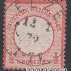 Sellos: ALEMANIA IMPERIO, 1872 YVERT Nº 3 . Lote 177528150