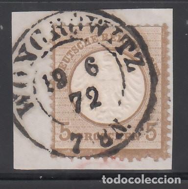 ALEMANIA IMPERIO, 1872 YVERT Nº 6 (Sellos - Extranjero - Europa - Alemania)