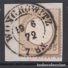 Sellos: ALEMANIA IMPERIO, 1872 YVERT Nº 6 . Lote 177528267