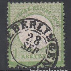 Sellos: ALEMANIA IMPERIO, 1872 YVERT Nº 7. Lote 177528517