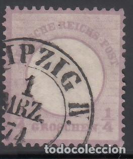ALEMANIA IMPERIO, 1872 YVERT Nº 13 (Sellos - Extranjero - Europa - Alemania)