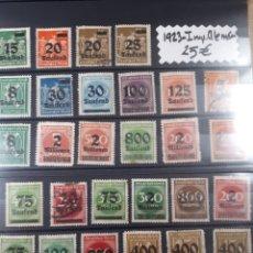Sellos: SELLOS DE ALEMANIA AÑO 1923 LOTE H10. Lote 177748647