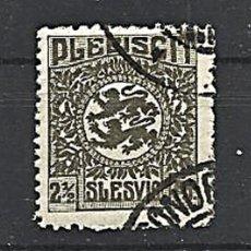 Sellos: SLESWIG - 1920. Lote 178666792