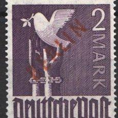 Sellos: BERLIN 1948 YVERT Nº 18 /**/, SOBRECARGA ROJA, SIN FIJASELLOS, . Lote 178842023