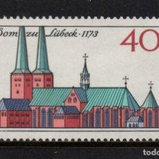 Sellos: ALEMANIA 629** - AÑO 1973 - 8º CENTENARIO DE LA CATEDRAL DE LUBEK. Lote 178963567
