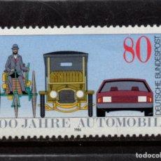 Sellos: ALEMANIA 1100** - AÑO 1986 - CENTENARIO DEL AUTOMOVIL. Lote 178963696