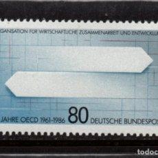 Sellos: ALEMANIA 1126** - AÑO 1986 - 25º ANIVERSARIO DE LA OCDE. Lote 178965050