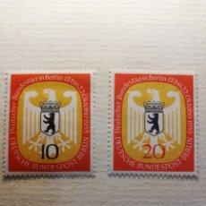 Sellos: BERLIN YT NUM 114 Y 115 AÑO 1955. Lote 178974100
