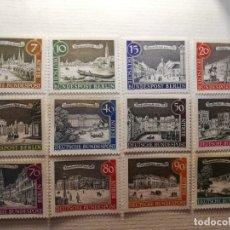 Sellos: BERLIN YT NUM 196 AL 207 AÑO 1962. Lote 178975848