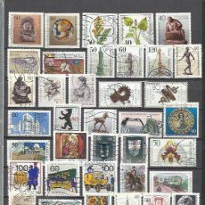Sellos: R35-LOTE DE SELLOS ALEMANIA BERLIN SIN TASAR,CON UNO YA AMORTIZA,SELLOS USADOS FOTO REAL.. Lote 179000827