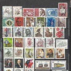 Sellos: R35B-LOTE DE SELLOS ALEMANIA BERLIN SIN TASAR,CON UNO YA AMORTIZA,SELLOS USADOS FOTO REAL.. Lote 179000885