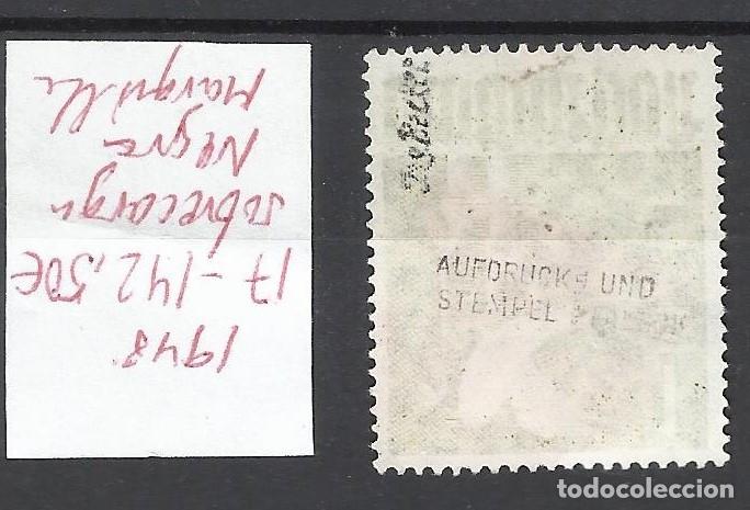 Sellos: 8249- SELLO ALEMANIA BERLIN 1948 Nº 17 VALOR 142,50€ MARQUILLADO,VEA FOTOS.USADO - Foto 2 - 179008607