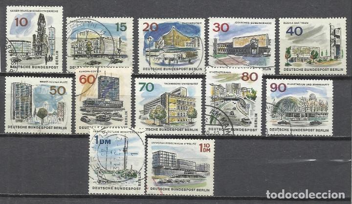 8365FF-ALEMANIA NERLIN SERIE COMPLETA MONUMENTOS 1965 Nº230/41 USADOS. (Sellos - Extranjero - Europa - Alemania)