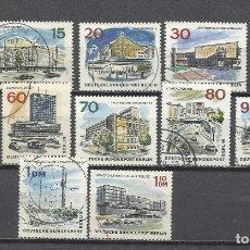 Sellos: 8365FF-ALEMANIA NERLIN SERIE COMPLETA MONUMENTOS 1965 Nº230/41 USADOS.. Lote 179009403