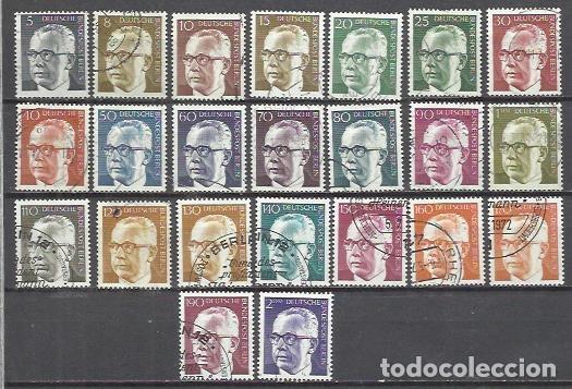 R36B-ALEMANIA BERLIN LAS 3 SERIES COMPLETAS USADO 1970 27,00€ FOTO REAL Nº339/52.TODOS.EL 25 VER DE (Sellos - Extranjero - Europa - Alemania)