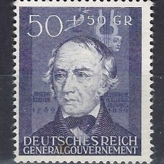 Sellos: GOBIERNO GENERAL 1942 DEUTSCHES REICH - JOSEF ELSNER, 1769-1854. COMPOSITOR - SELLO NUEVO C/F*. Lote 179091510