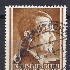 Sellos: GOBIERNO GENERAL 1941 DEUTSCHES REICH - A. HITLER - SELLO USADO. Lote 179092282