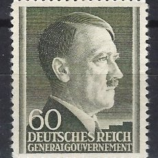 Sellos: GOBIERNO GENERAL 1942 DEUTSCHES REICH - A. HITLER - SELLO NUEVO **. Lote 179093625