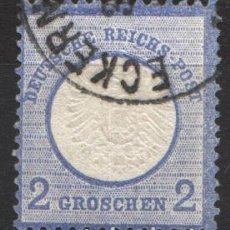 Sellos: ALEMANIA IMPERIO, 1872 YVERT Nº 17. Lote 179110658