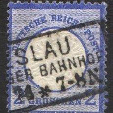 Sellos: ALEMANIA IMPERIO, 1872 YVERT Nº 17. Lote 179110678