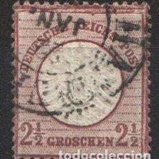 Sellos: ALEMANIA IMPERIO, 1872 YVERT Nº 18A . Lote 179111450