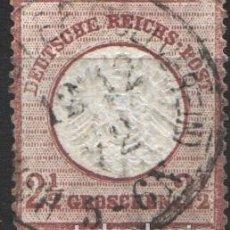 Sellos: ALEMANIA IMPERIO, 1872 YVERT Nº 18A . Lote 179111605