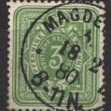 Sellos: ALEMANIA IMPERIO, 1875-77 YVERT Nº 30. Lote 179112952