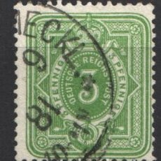 Sellos: ALEMANIA IMPERIO, 1875-77 YVERT Nº 30. Lote 179112995