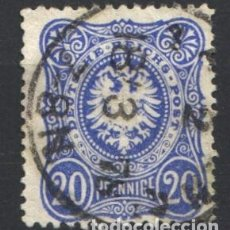Sellos: ALEMANIA IMPERIO, 1875-77 YVERT Nº 33 . Lote 179113170