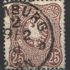 Sellos: ALEMANIA IMPERIO, 1875-77 YVERT Nº 34 . Lote 179113236