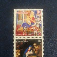 Sellos: ALEMANIA : EMISIÓN CONJUNTA ESPAÑA/ALEMANIA MNH (FOTOGRAFÍA ESTÁNDAR). Lote 179157133