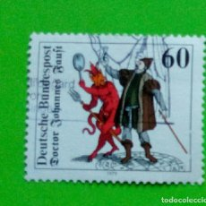 Sellos: GERMANY ,ALEMANIA 1979,DOCTOR JOHANNES FAUST SG. USED. Lote 179186866