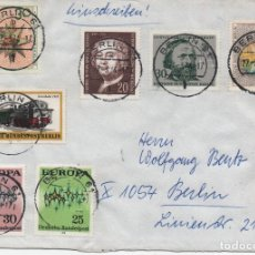 Sellos: BERLÍN. CARTA CERTIFICADA . Lote 179935986