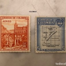 Sellos: SELLOS COLOMBIA-1. Lote 180016161