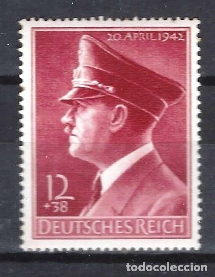ALEMANIA 1942 - 53º ANIVERSARIO DE A.HITLER - SELLO NUEVO ** (Sellos - Extranjero - Europa - Alemania)