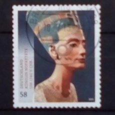 Sellos: ALEMANIA 2012 MUSEO EGIPCIO DE BERLÍN SELLO USADO. Lote 180337221