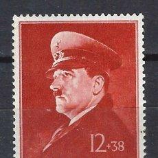 Francobolli: ALEMANIA 1941 - 52º ANIVERSARIO DE A.HITLER - SELLO NUEVO **. Lote 180342315