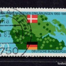 Sellos: ALEMANIA 1073 - AÑO 1985 - 30º ANIVERSARIO DE LA DECLARACION BONN - COPENAGUE. Lote 180387033