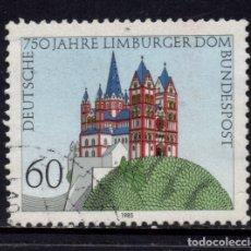 Sellos: ALEMANIA 1082 - AÑO 1985 - 750º ANIVERSARIO DE LA CATEDRAL DE LIMBURG. Lote 180387260