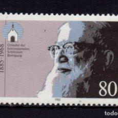 Sellos: ALEMANIA 1084** - AÑO 1985 - CENTENARIO DEL NACIMIENTO DE JOSEF KENTENICH. Lote 180387370