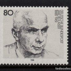 Sellos: ALEMANIA 1182** - AÑO 1988 - CENTENARIO DEL NACIMIENTO DE JACOB KAISER. Lote 180387571