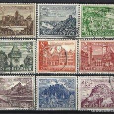 Sellos: ALEMANIA 1939 - CASTILLOS Y MONUMENTOS, S.COMPLETA - SELLOS USADOS. Lote 180413797