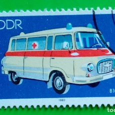 Sellos: ALEMANIA DDR 1982, AMBULANCE. USED. Lote 181089013