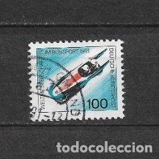Sellos: ALEMANIA 1991 USADOS DEPORTES DE INVIERNO - 7/35. Lote 182675787