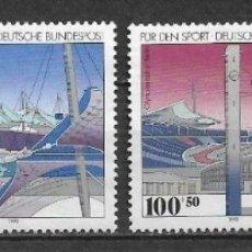 Sellos: ALEMANIA 1993 USADOS DEPORTES OLIMPIADAS - 7/35. Lote 182679176